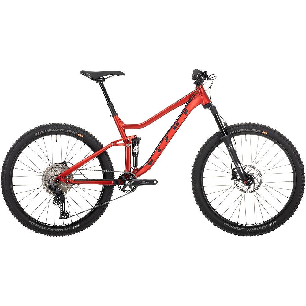 Bicicleta de montaña Vitus Mytique 27 VRS 2021 - Burnt Red, Burnt Red