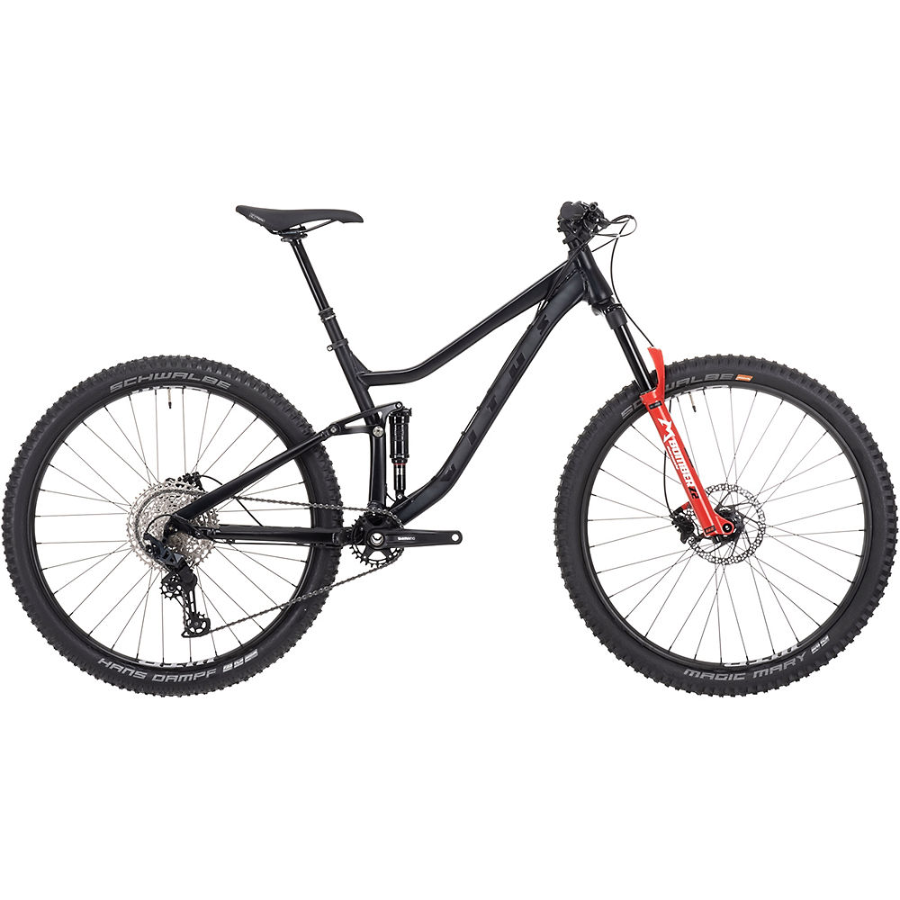 Vitus Mythique 29 VRX Mountain Bike 2021 - Burnt Charcoal, Burnt Charcoal