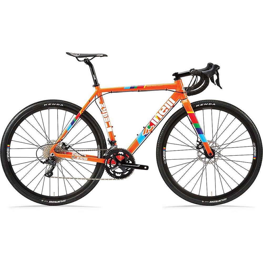 Bicicleta de carretera Cinelli Zydeco LaLa Sora Adventure 2021 - Naranja, Naranja