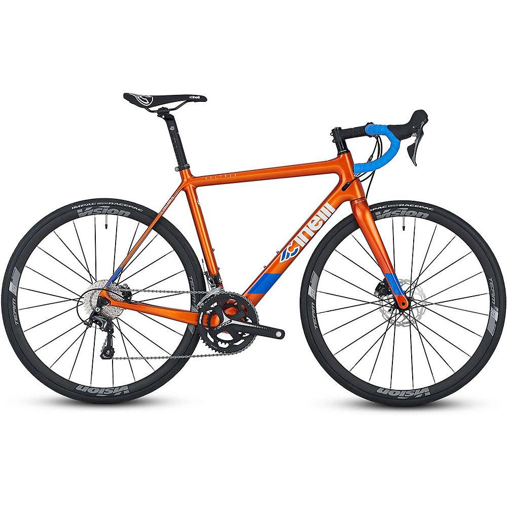 Cinelli Veltrix Disc Tiagra Hydro Road Bike 2020 – Blue – XS, Blue