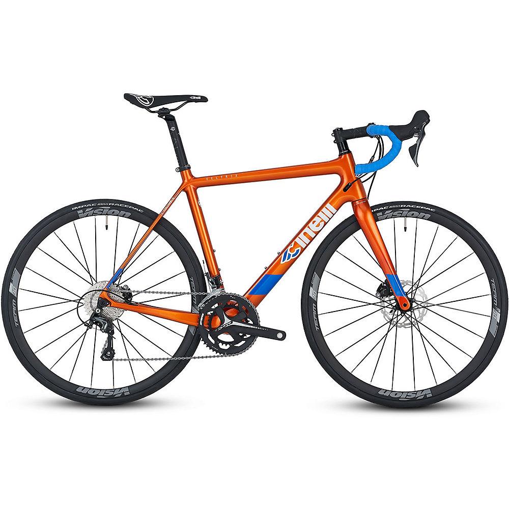 Cinelli Veltrix Disc Tiagra Hydro Road Bike 2020 - arancia