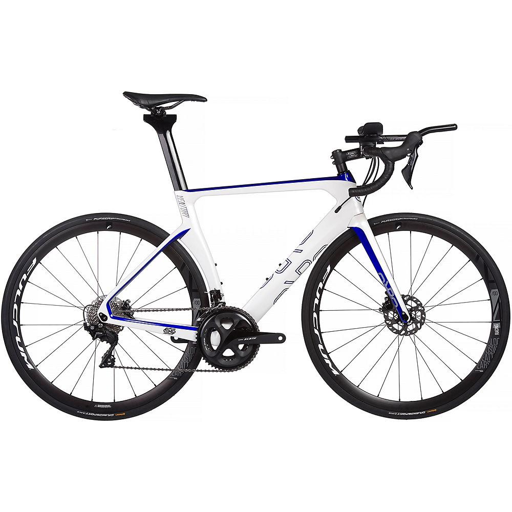 Orro Venturi Evo TRI 7020 R400 Bike 2020 - bianco - blu