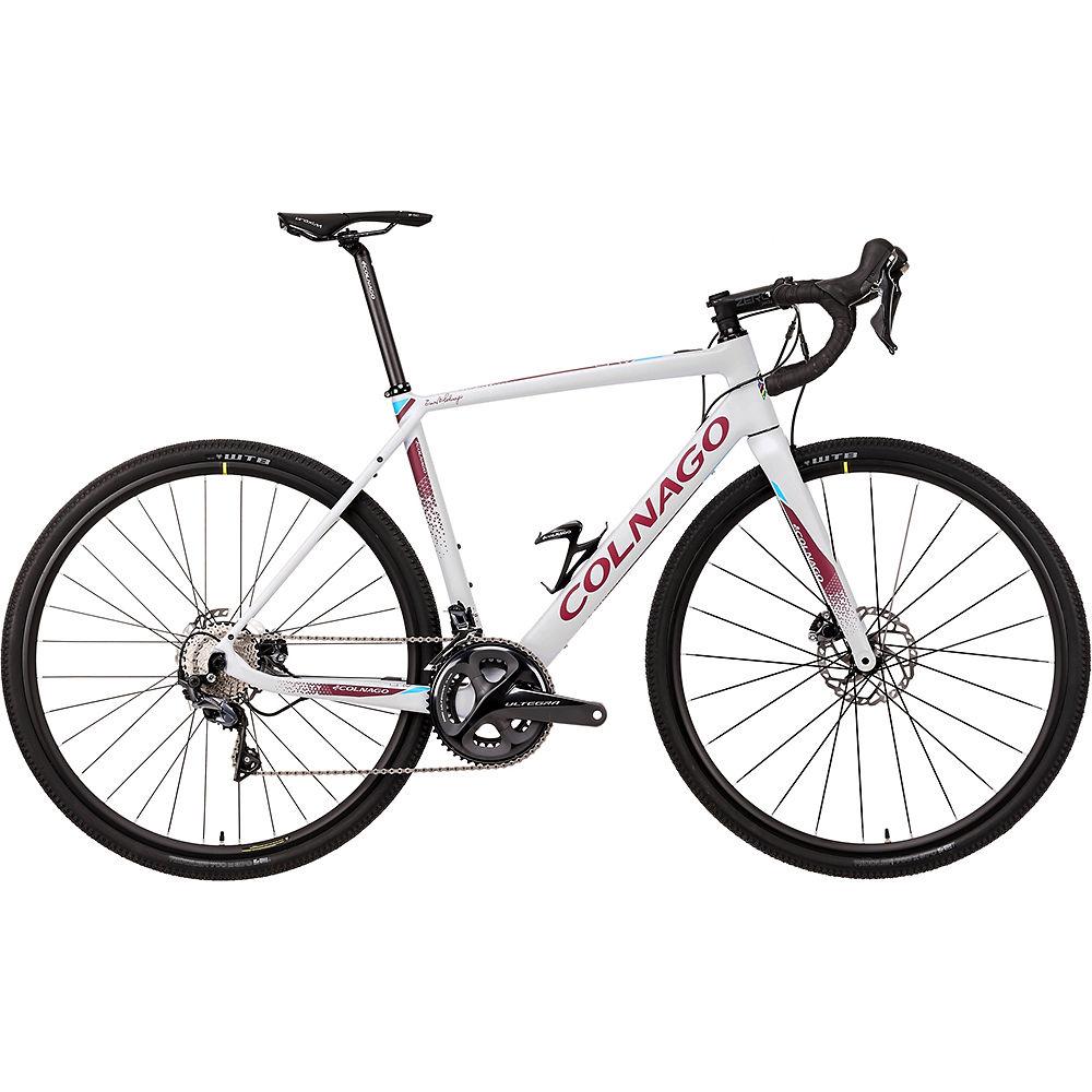 Colnago EGRV Disc Gravel E-Bike 2021 - Grey - Red - 52cm (20.5