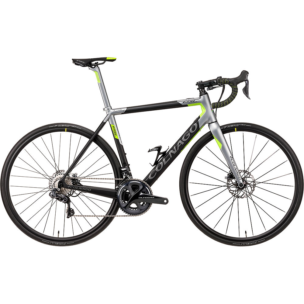 Colnago E64 Disc Road E-Bike 2021 - Black - Grey - 46cm (18