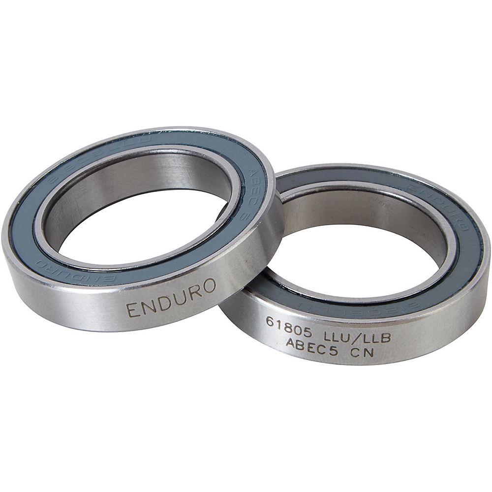 Nukeproof Enduro 61805 Abec5 V2 Hub Bearing Pair - Silver - 61805 Pair  Silver