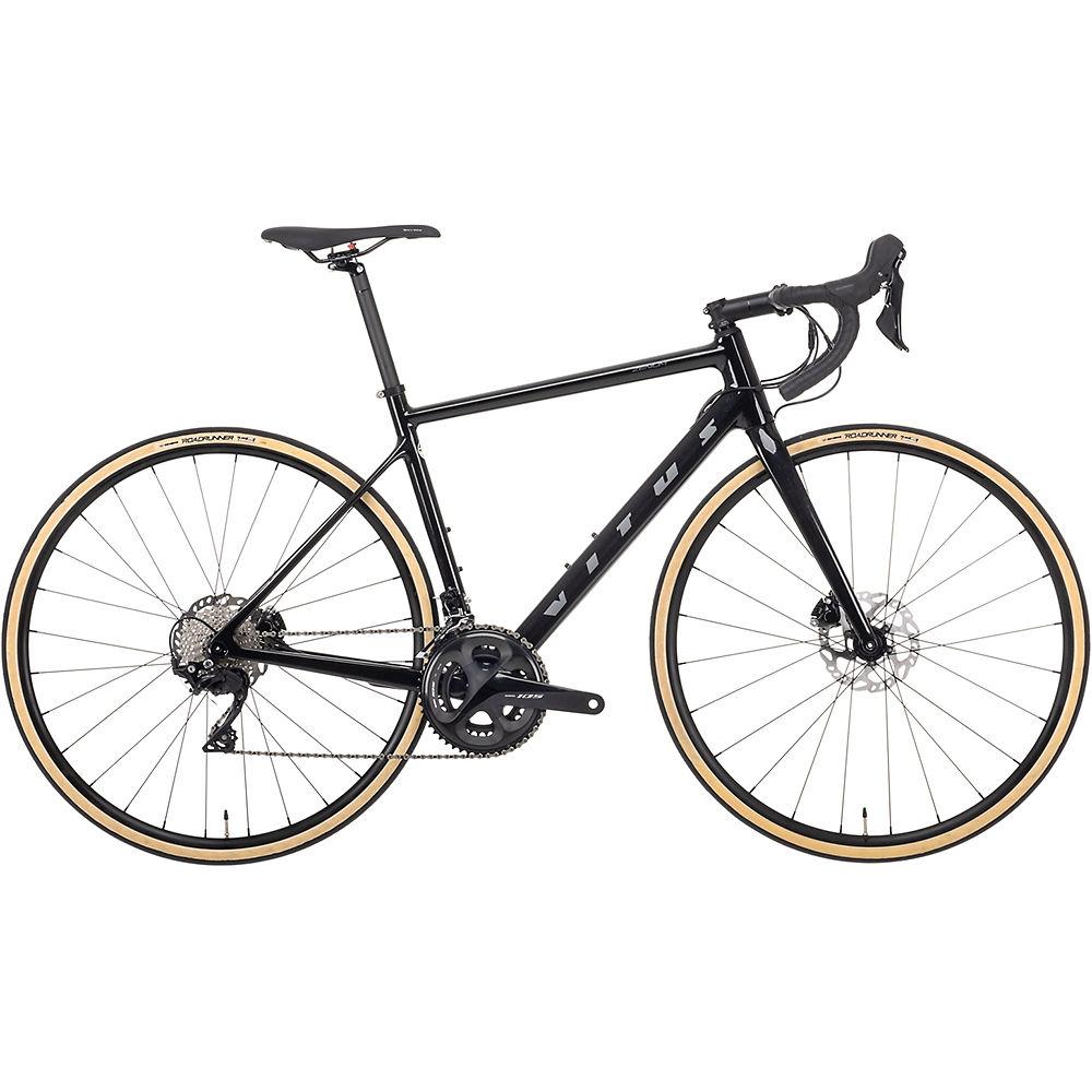 Bicicleta de carretera Vitus Zenium CR Disco (105) 2021 - Black Quartz, Black Quartz