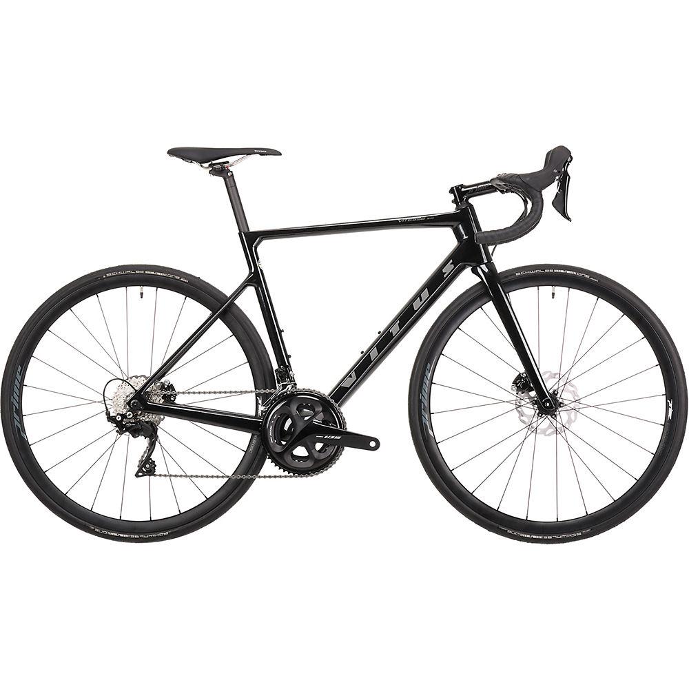Bicicleta de carretera Vitus Vitesse EVO CR Disco (105) 2021 - Black Quartz, Black Quartz
