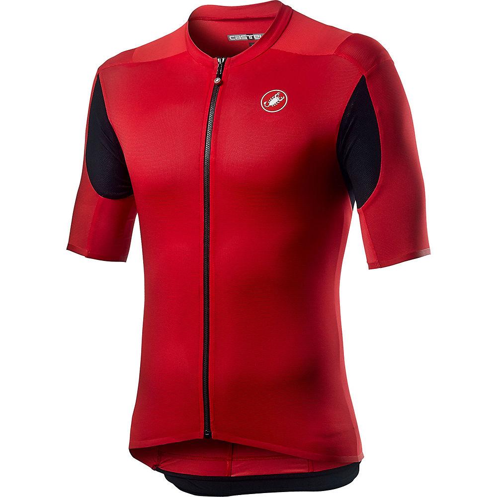 Castelli Superleggera 2 Jersey  - Red - XXL, Red