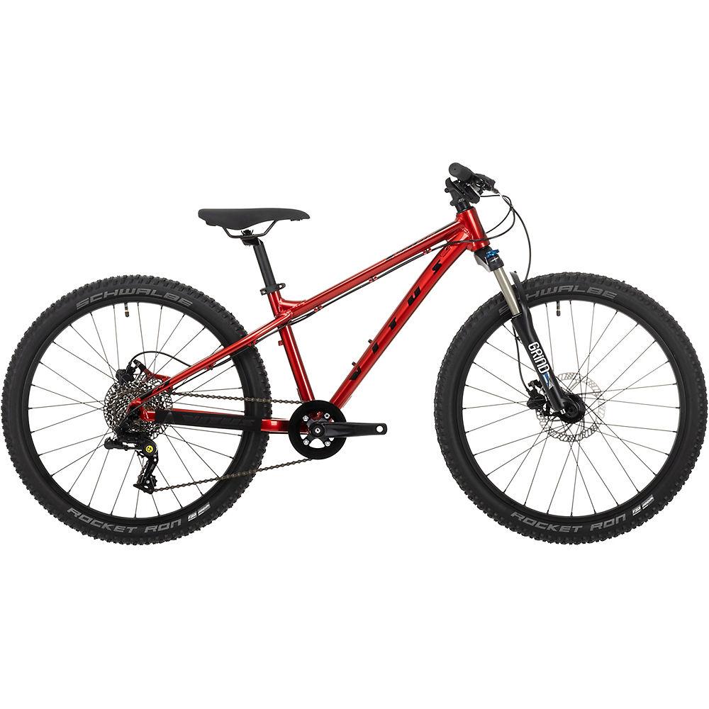Bicicleta rígida juvenil Vitus Nucleus 24 2021 - Rojo, Rojo