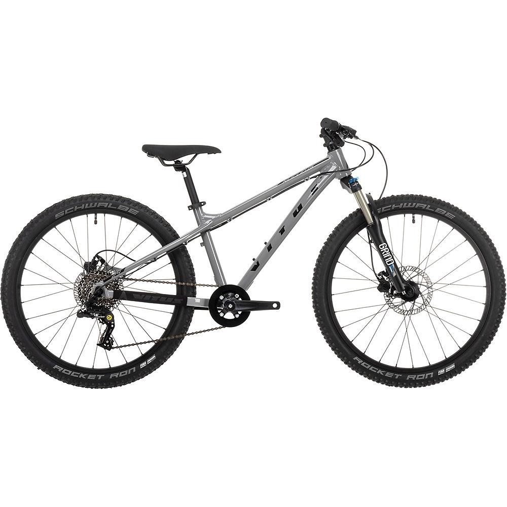 Bicicleta rígida juvenil Vitus Nucleus 24 2021 - Plateado, Plateado