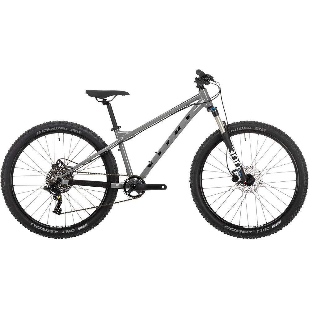 Bicicleta rígida juvenil Vitus Nucleus 26 2021 - Plateado, Plateado