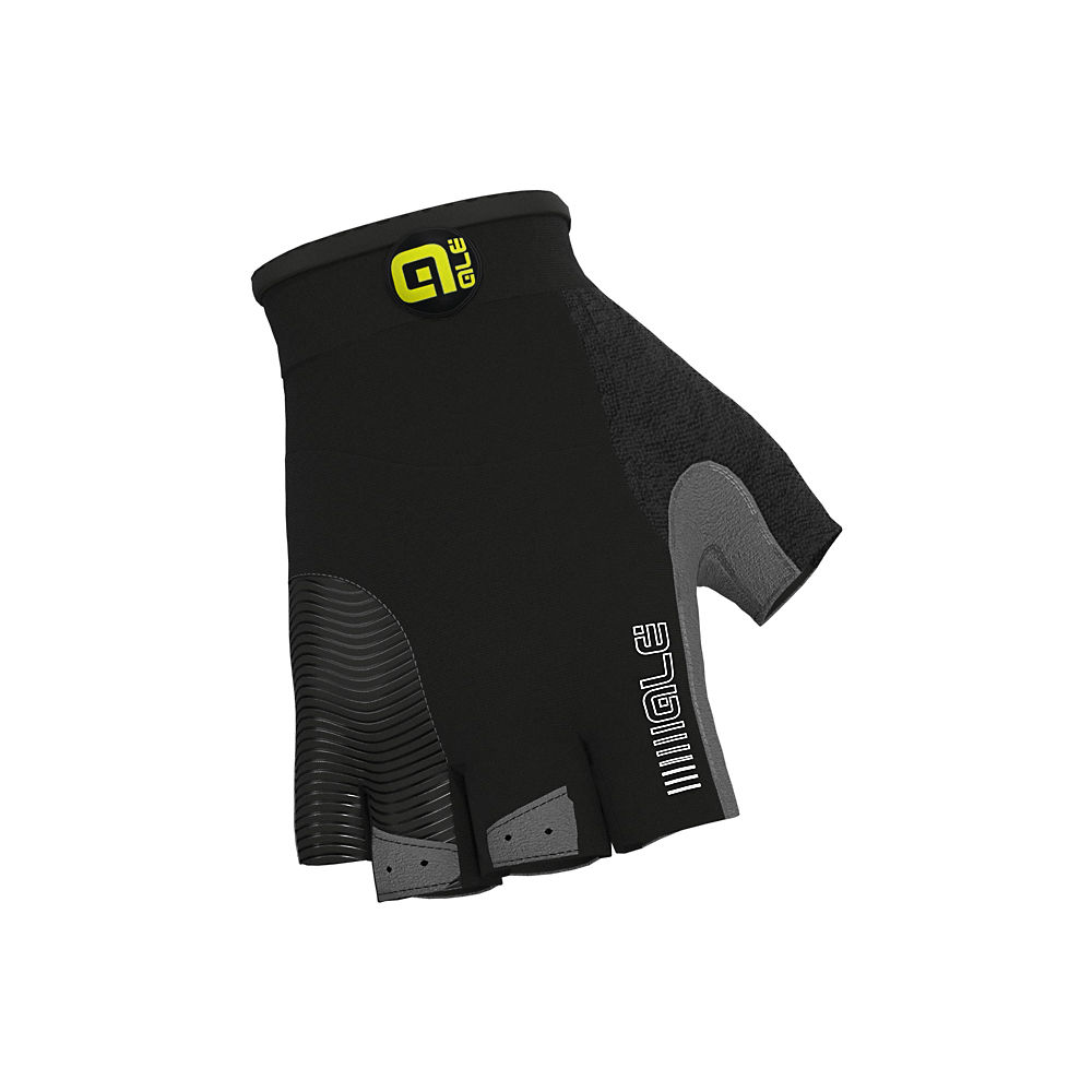 Alé Comfort Gloves - Black-White - XS, Black-White