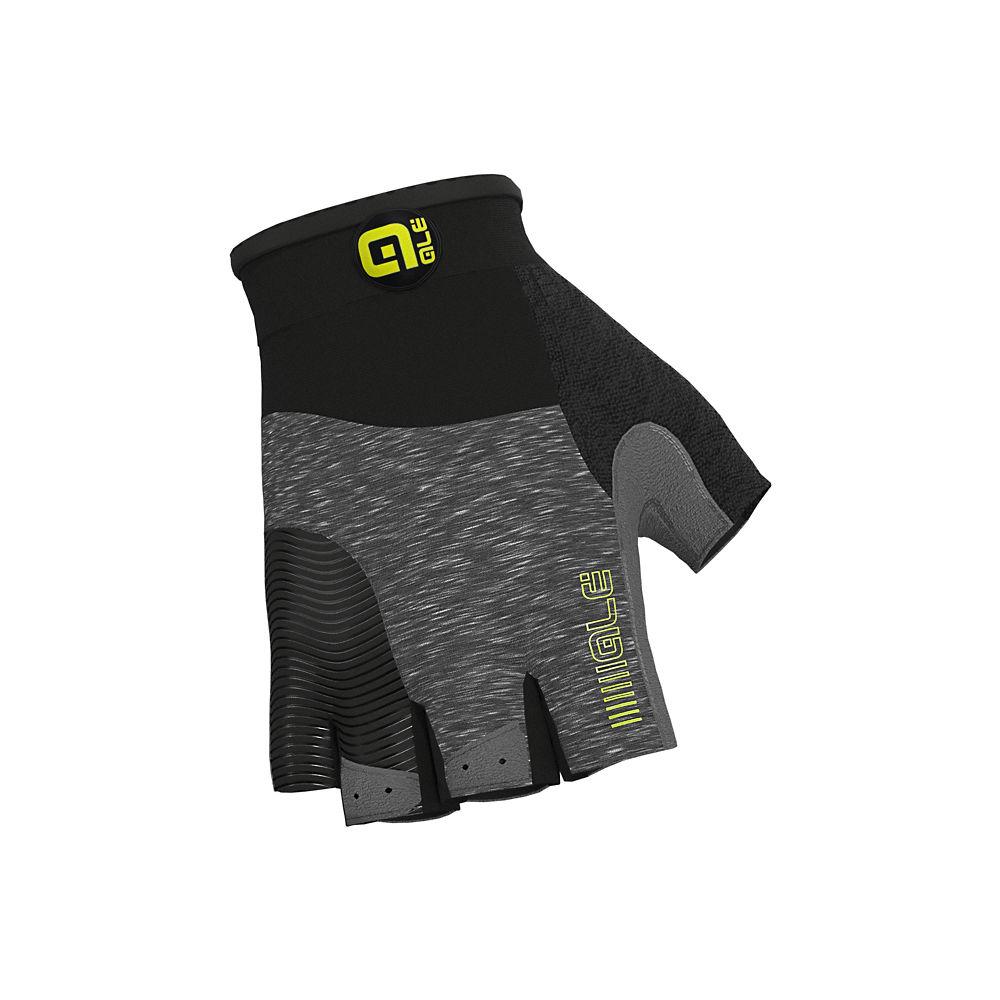 Alé Comfort Gloves - Melange-Fluo Yellow, Melange-Fluo Yellow