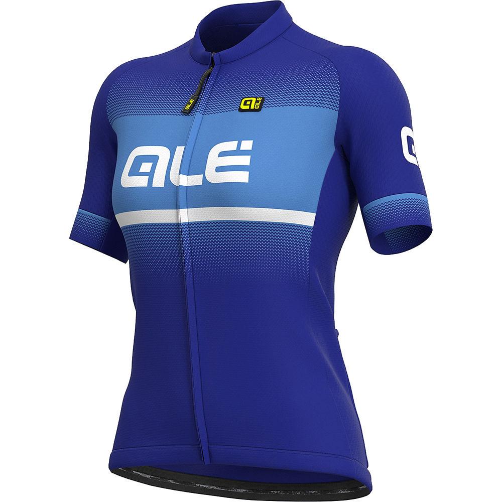 Ale Womens Solid Blend Jersey - Blue  Blue