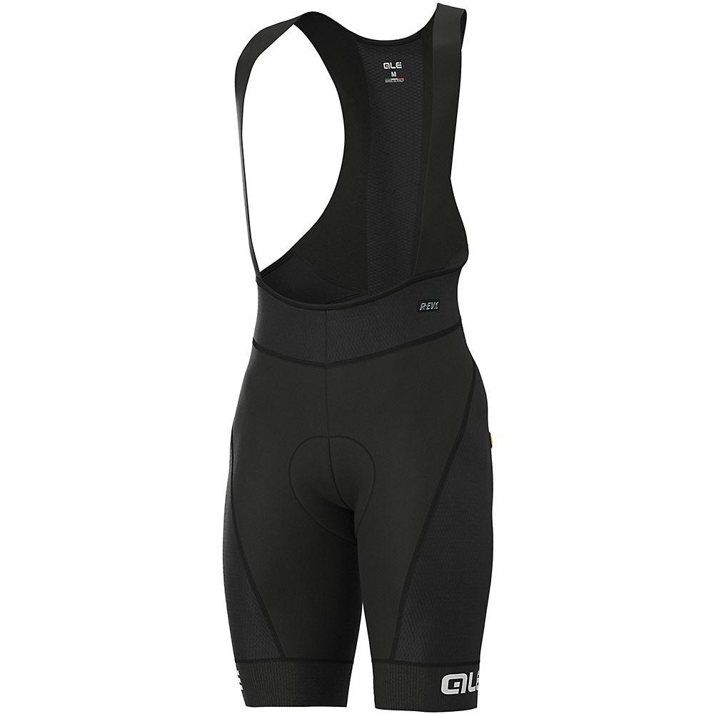 Ale R-ev1 Agonista Plus Bib Shorts - Black-white - Xxl  Black-white