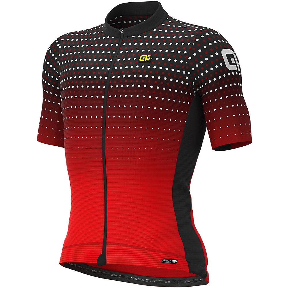 Alé PRS Bullet Jersey  – BLACK-RED, BLACK-RED
