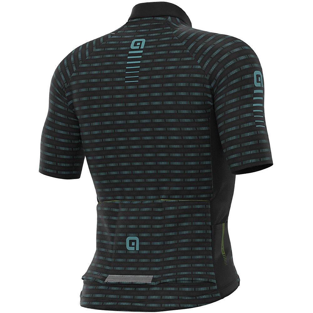 Ale Graphics Prr Green Road Jersey - Black-turquoise  Black-turquoise