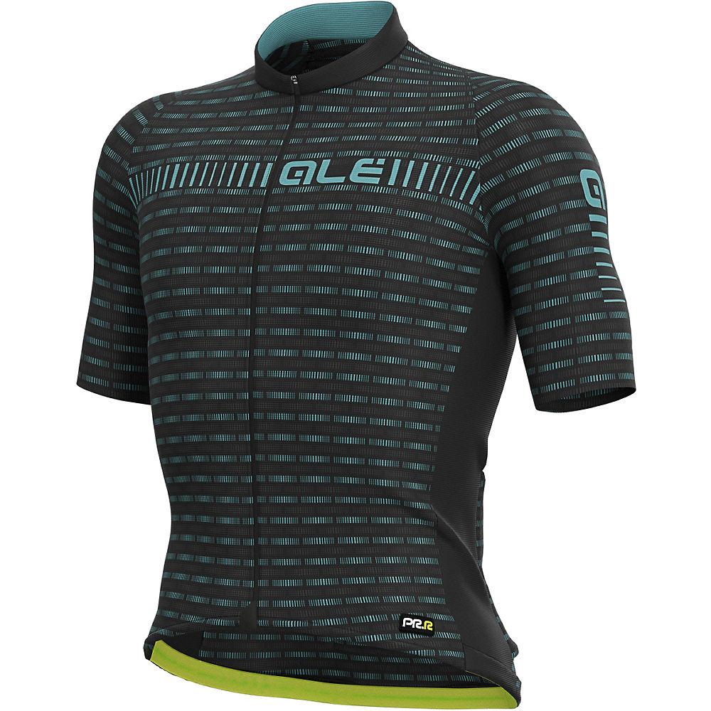 Alé Graphics PRR Green Road Jersey - Black-Turquoise - XXL, Black-Turquoise