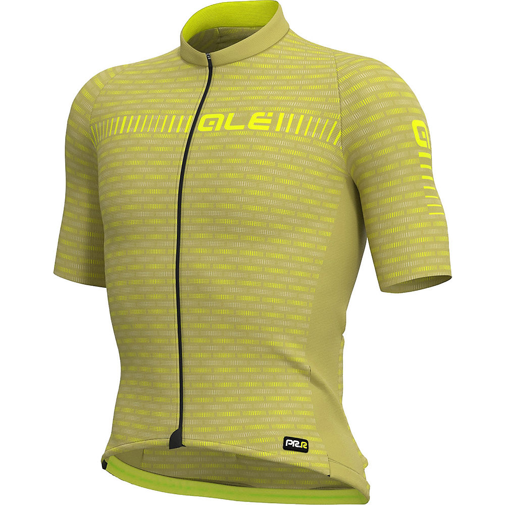 Alé Graphics PRR Green Road Jersey - Green-Yellow - XL, Green-Yellow