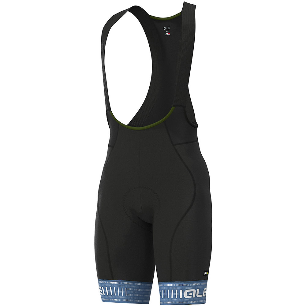 Alé Graphics PRR Green Road Bib Shorts - Dust Grey-White - XXXL, Dust Grey-White