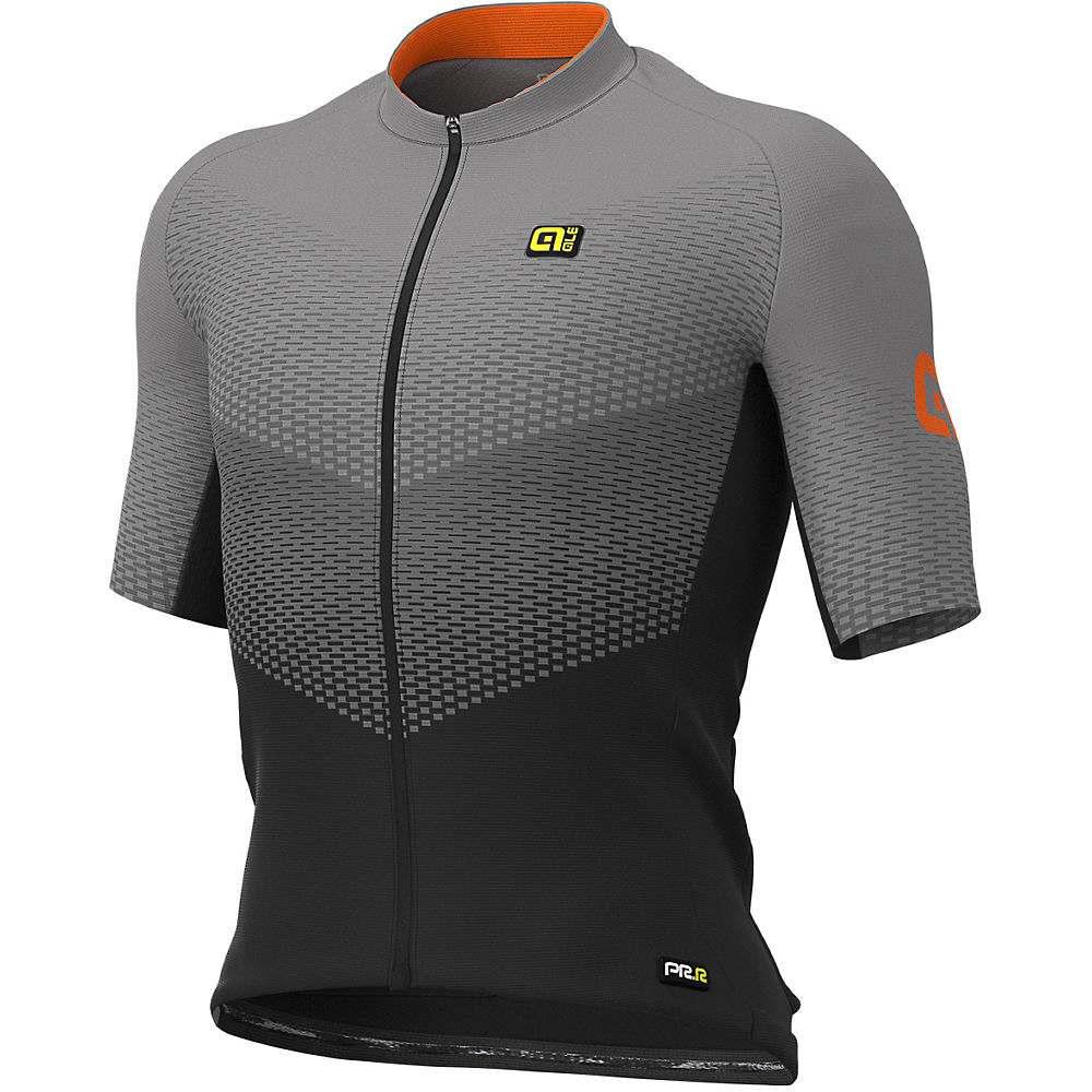 Alé Graphics PRR Delta Jersey - Black-Grey-Fluo Orange - XL, Black-Grey-Fluo Orange