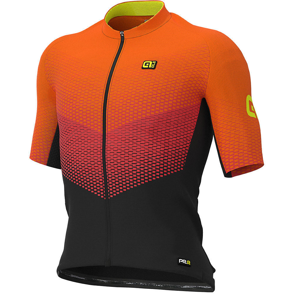 Alé Graphics PRR Delta Jersey - Black-Red-Fluro Orange - XS, Black-Red-Fluro Orange
