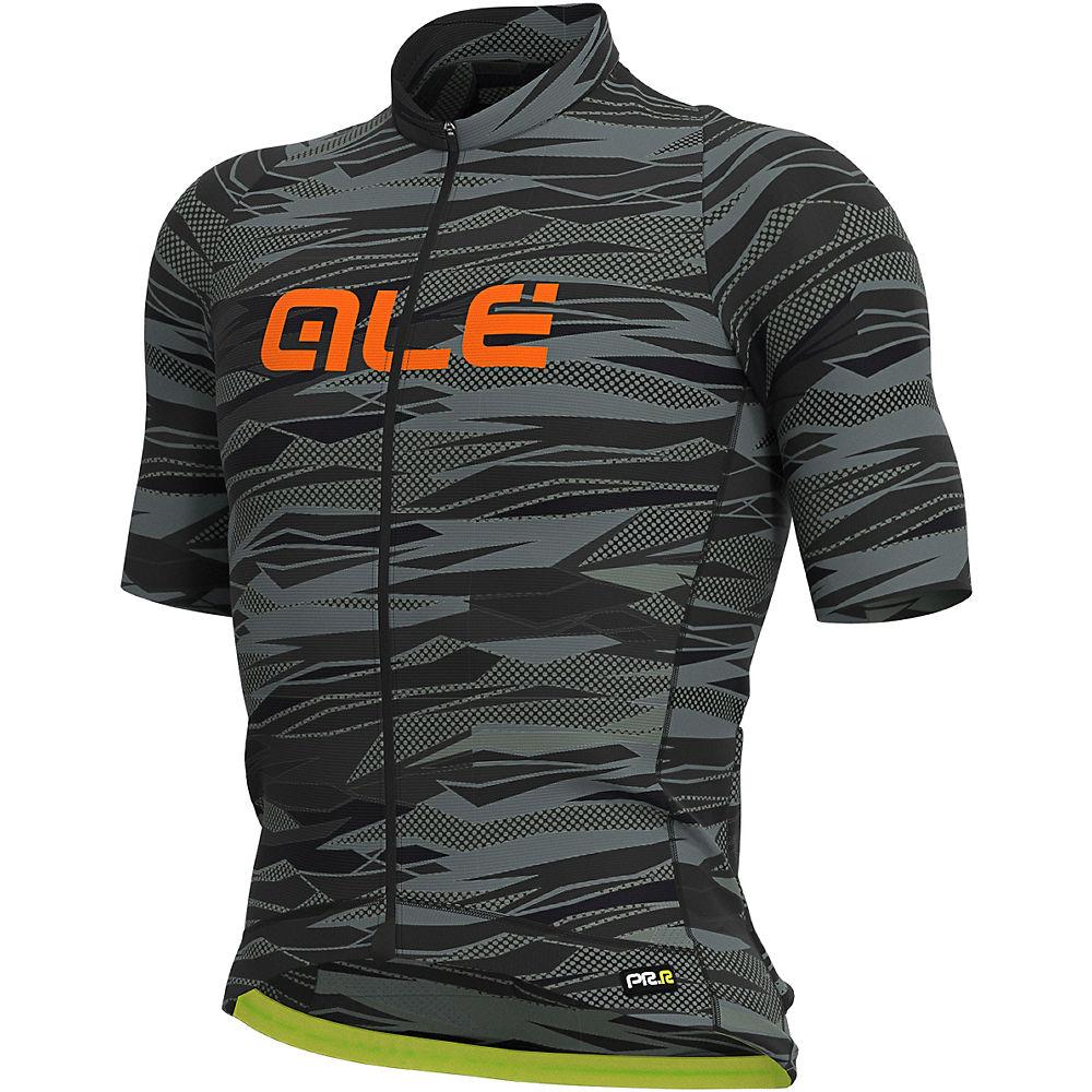 Alé Graphics PRR Rock Jersey - Black-Fluro Orange - XXL, Black-Fluro Orange