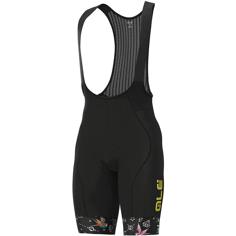 Ale Graphics Prr Versilia Bib Shorts - Black - Xxl  Black