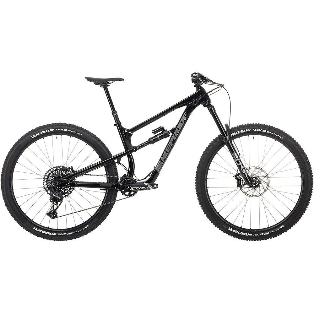 Bicicleta de aleación Nukeproof Mega 290 Pro (GX Eagle) 2021 - Black Brushed, Black Brushed