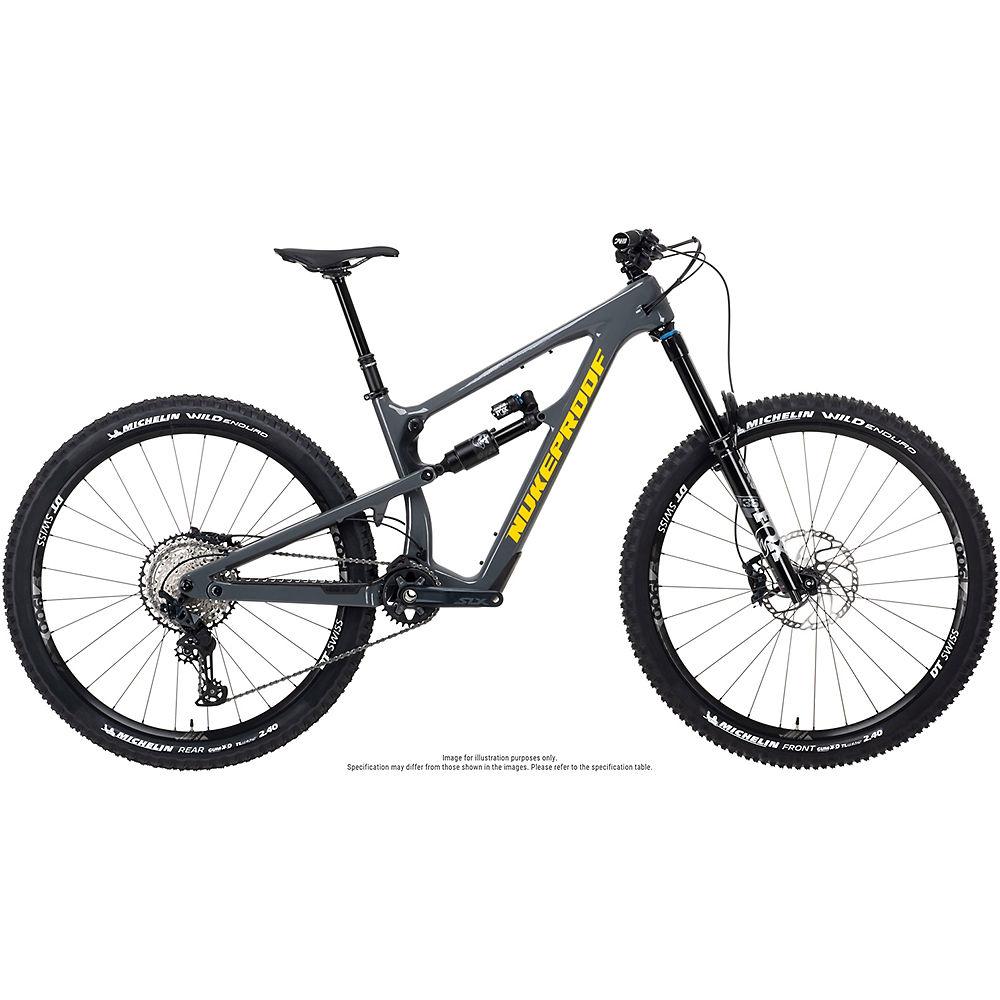 Bicicleta de carbono Nukeproof Reactor 290 Elite (SLX) 2021 - Bullet Grey - XXL, Bullet Grey