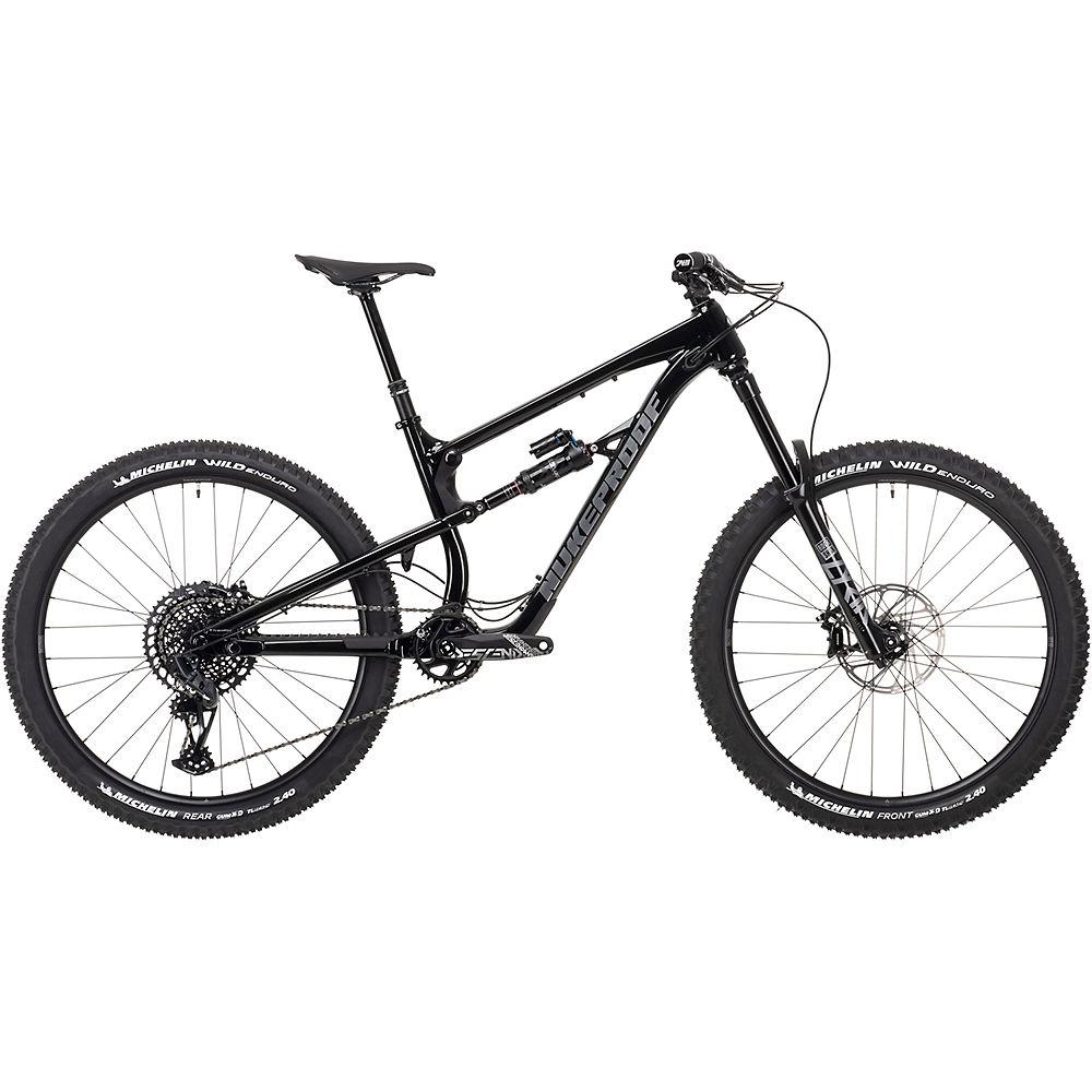 Bicicleta de aleación Nukeproof Mega 275 Pro (GX Eagle) 2021 - Black Brushed - XL, Black Brushed