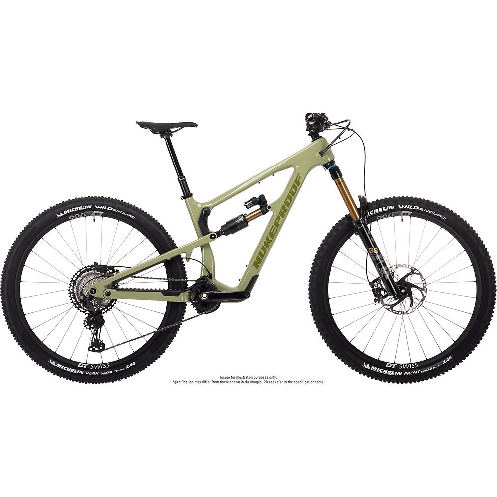 Bicicleta de carbono Nukeproof Mega 290 Factory (XT) 2021 - Artichoke Green - S, Artichoke Green