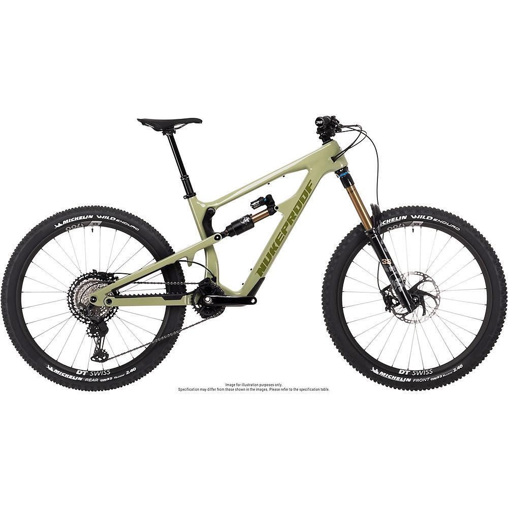 Bicicleta de carbono Nukeproof Mega 275 Factory (XT) 2021 - Artichoke Green, Artichoke Green