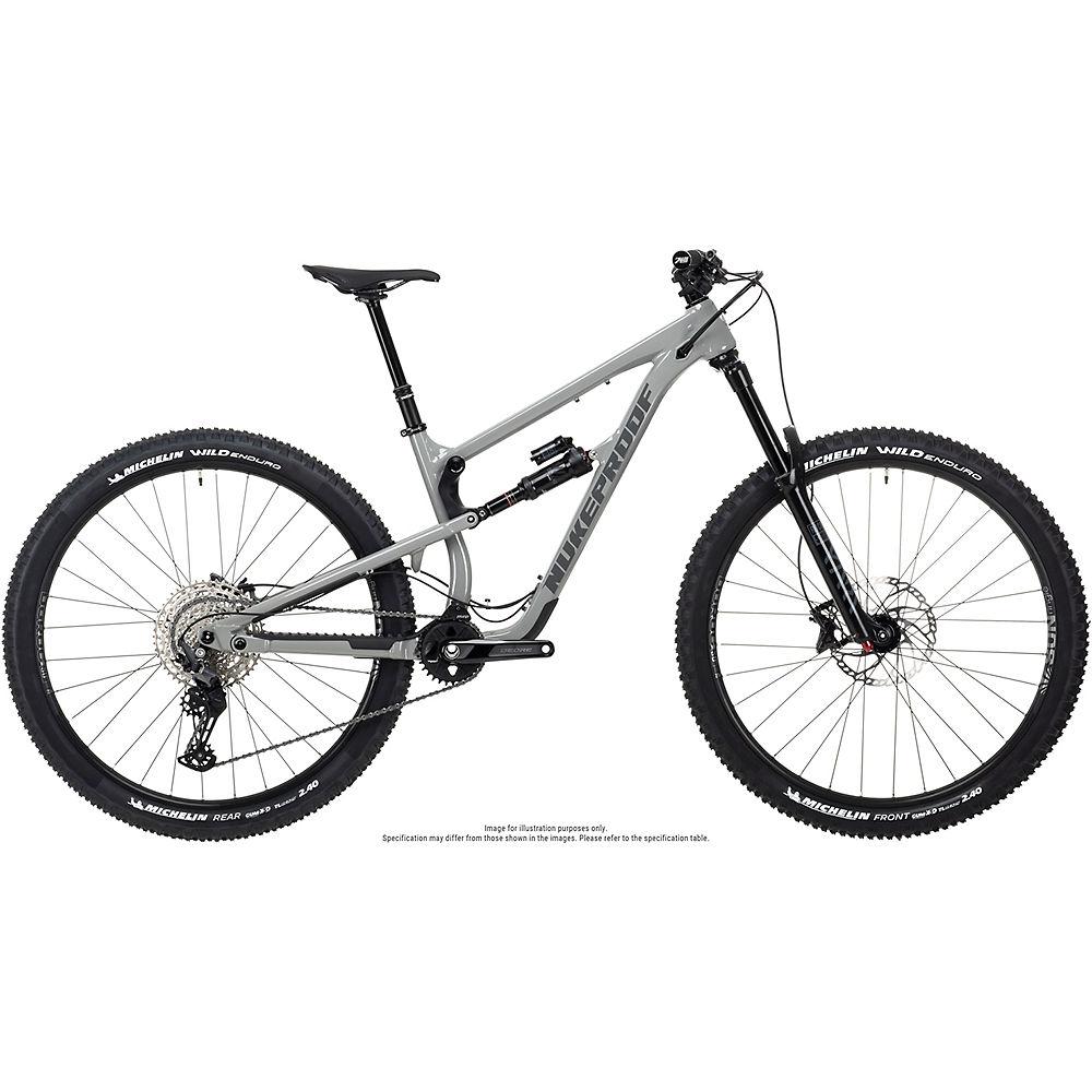 Bicicleta de aleación Nukeproof Mega 290 Comp (Deore) 2021 - Concrete Grey - XL, Concrete Grey