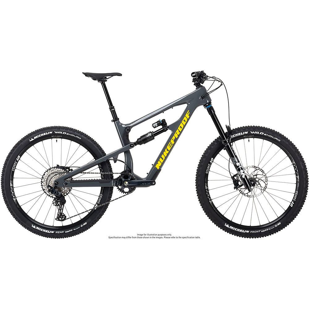 Bicicleta de carbono Nukeproof Reactor 275 Elite (SLX) 2021 - Bullet Grey - XL, Bullet Grey