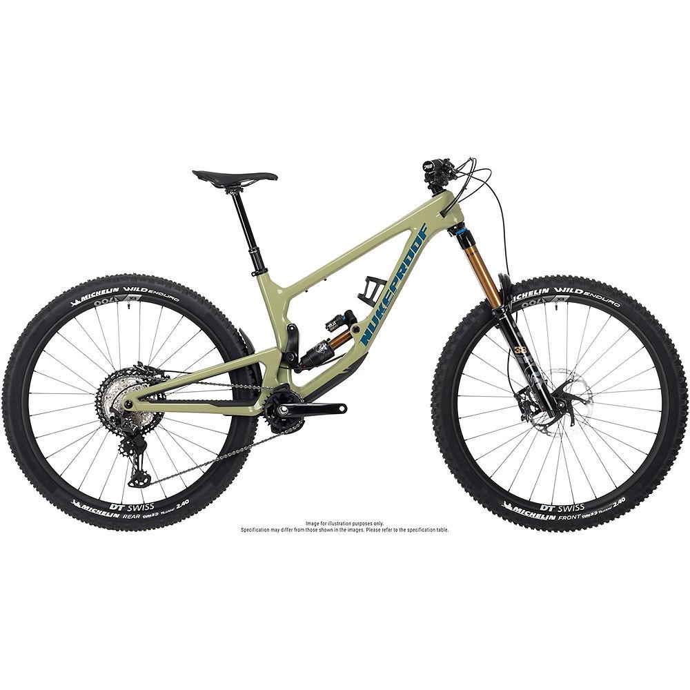 Nukeproof Giga 290 Factory Carbon Bike (xt) 2021 - Artichoke Green - Xl  Artichoke Green