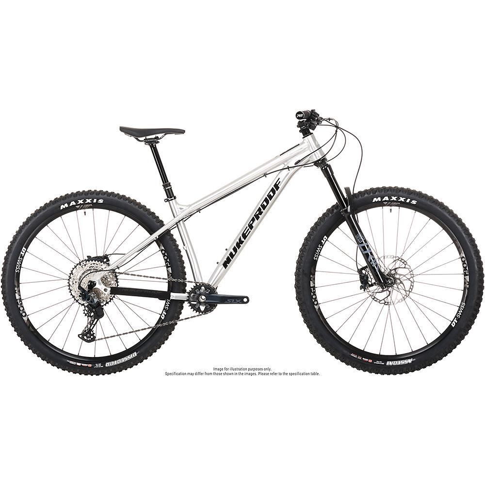Bicicleta Nukeproof Scout 290 Pro (SLX) 2021 - Brushed Alloy - XL, Brushed Alloy
