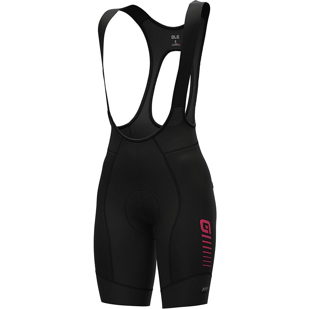 Ale Womens R-ev1 Future Race  Bib Shorts - Black-fluro Pink - Xxl  Black-fluro Pink