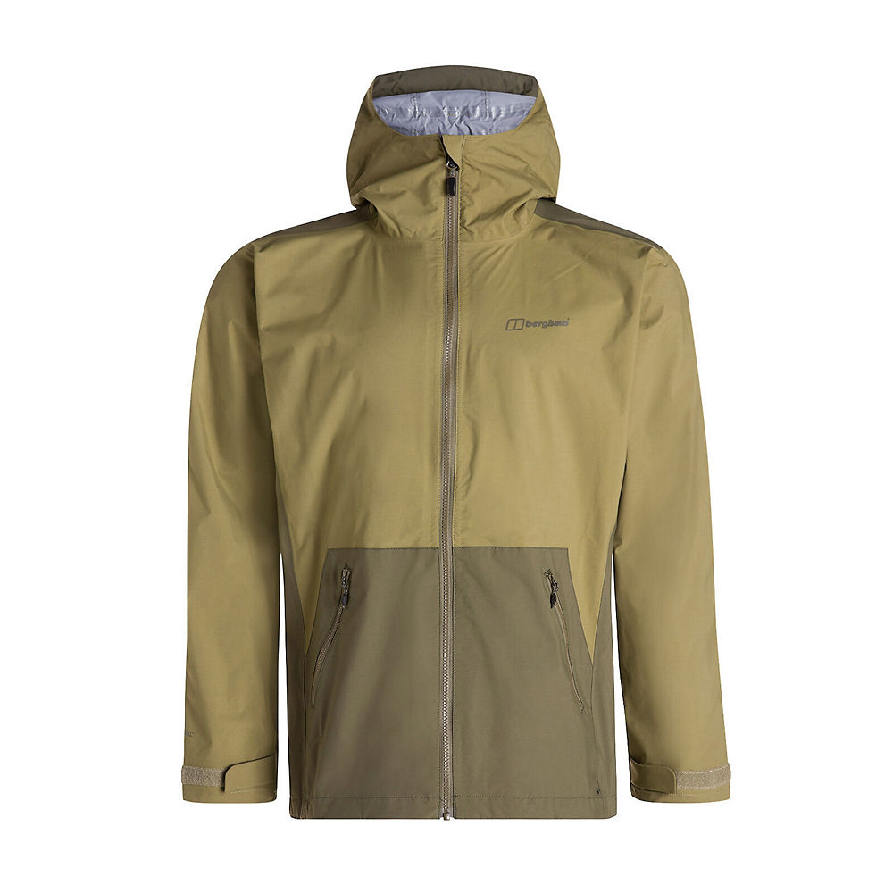 Berghaus Deluge Pro 2.0 Waterproof Jacket  - Olive Drab-Ivy Green - XXL, Olive Drab-Ivy Green