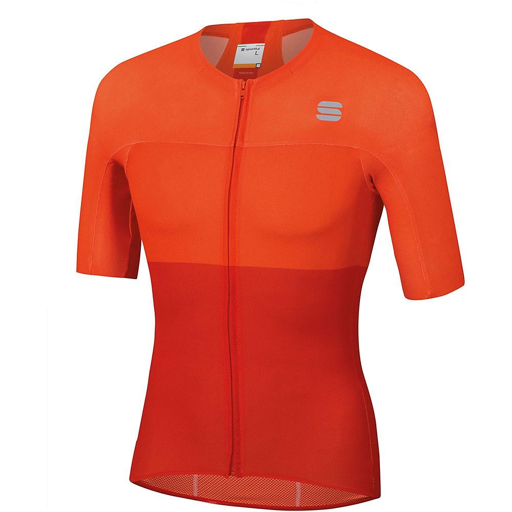 Sportful Bodyfit Pro Light Jersey - Fire Red-Orange SDR - XXL, Fire Red-Orange SDR