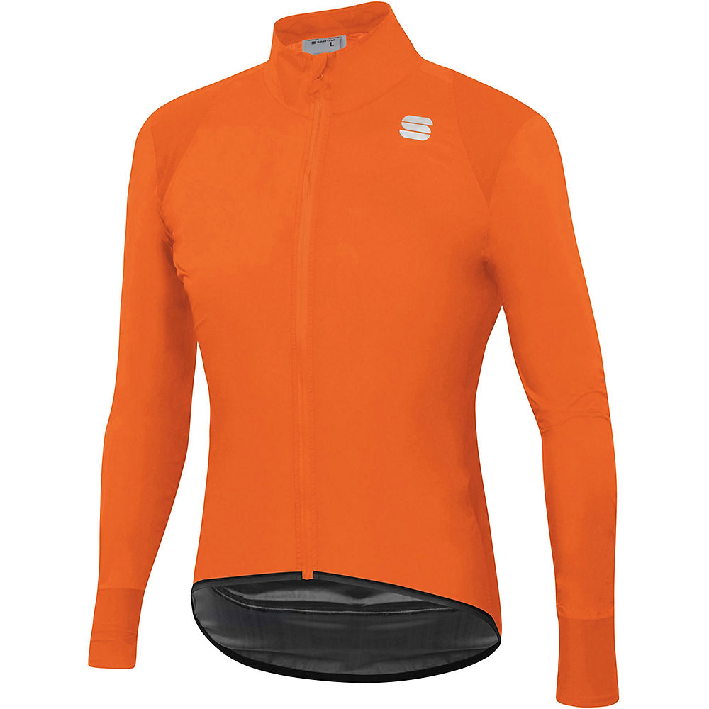 Sportful Hot Pack Norain Jacket - Orange Sdr - M  Orange Sdr
