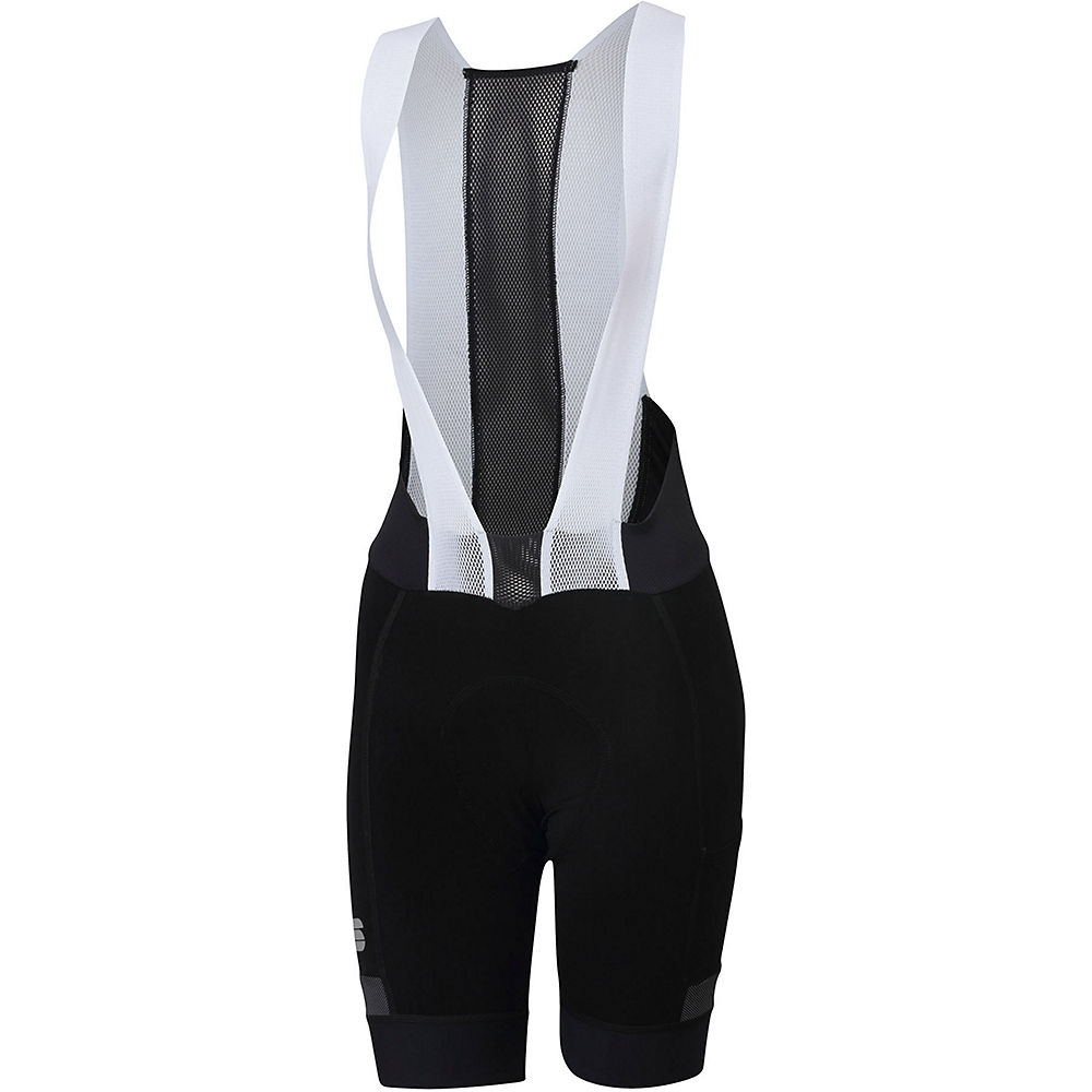 Sportful Womens Supergiara Bib Shorts  - Black  Black