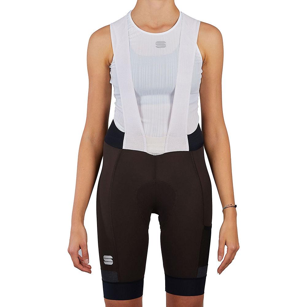 Sportful Womens Supergiara Bib Shorts  - Cacao - Xs  Cacao