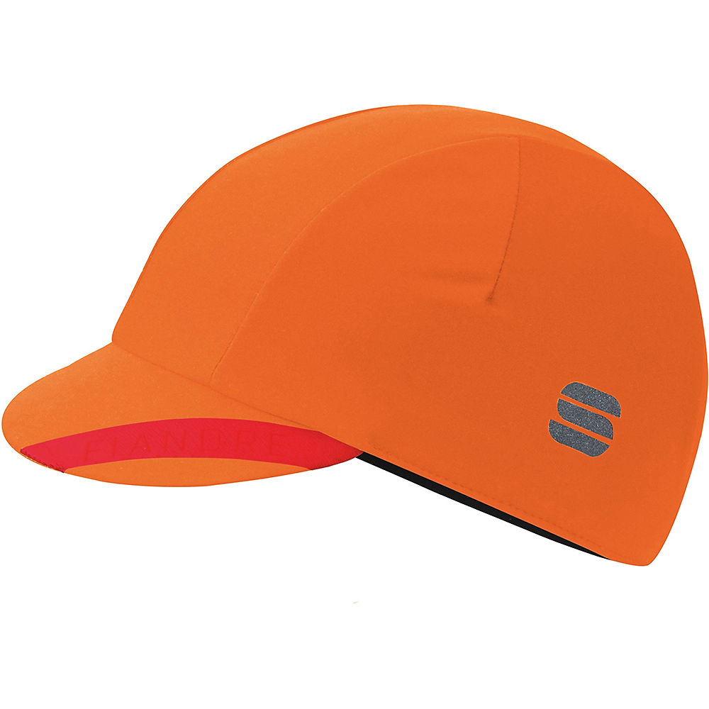 Sportful Fiandre No Rain Cap  - Orange SDR - One Size, Orange SDR