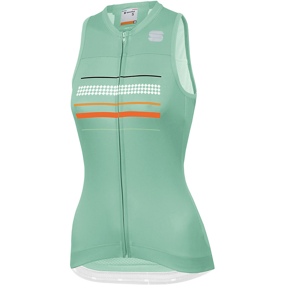 Sportful Womens Diva Sleeveless Jersey  - Acqua Green  Acqua Green