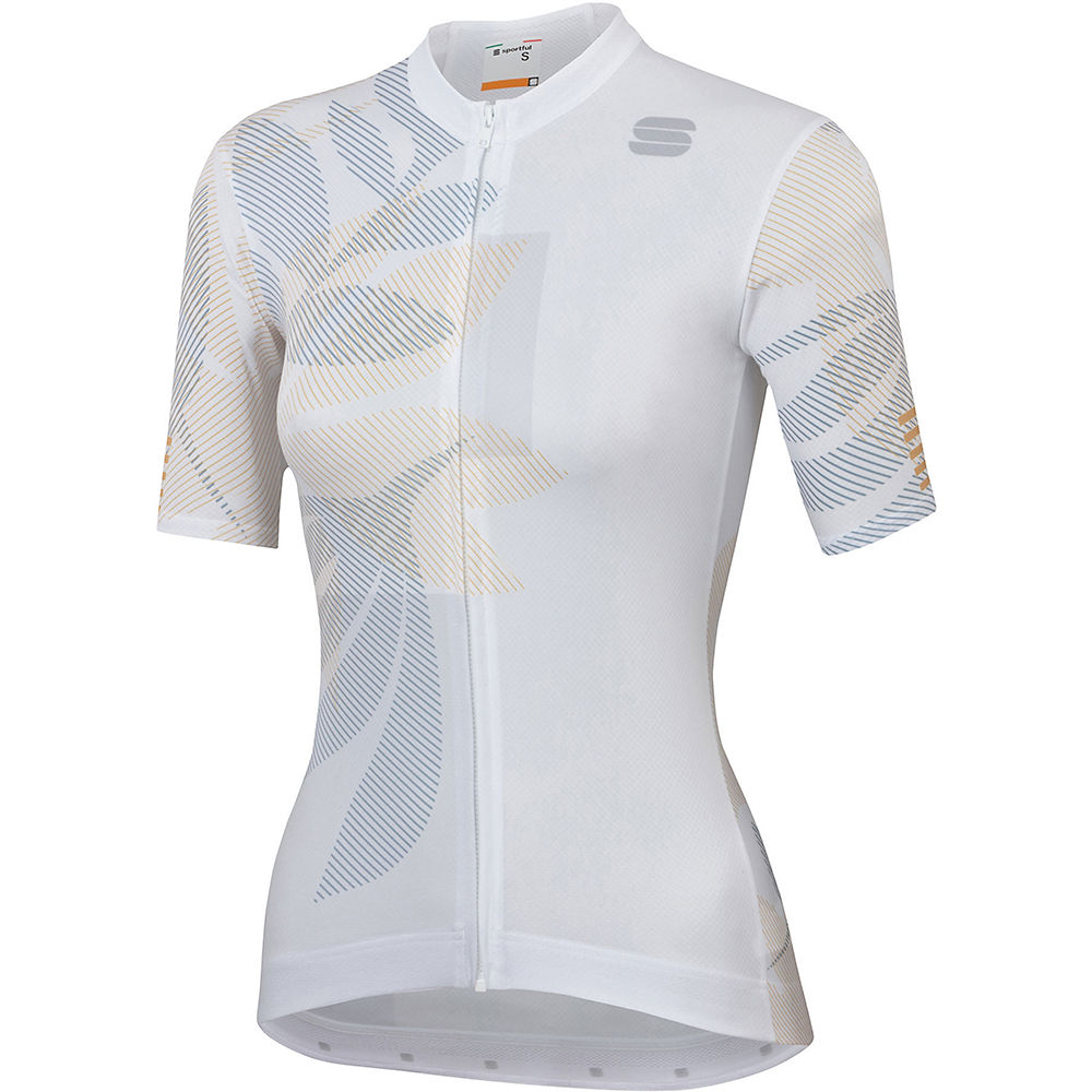 Sportful Womens Oasis Jersey  - White-silver-gold  White-silver-gold