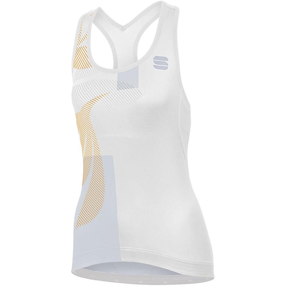 Sportful Womens Oasis Top  - White-silver-gold  White-silver-gold