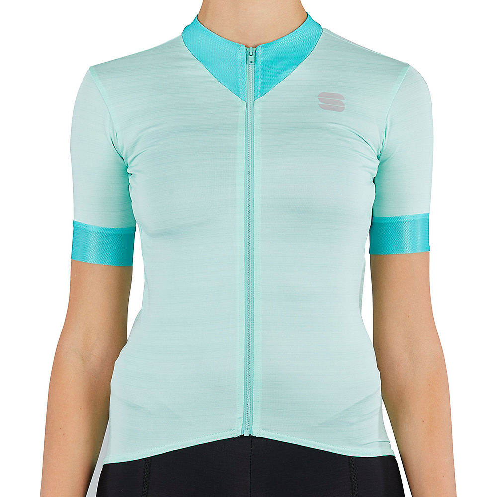 Sportful Womens Kelly Short Sleeve Jersey - Acqua Green  Acqua Green