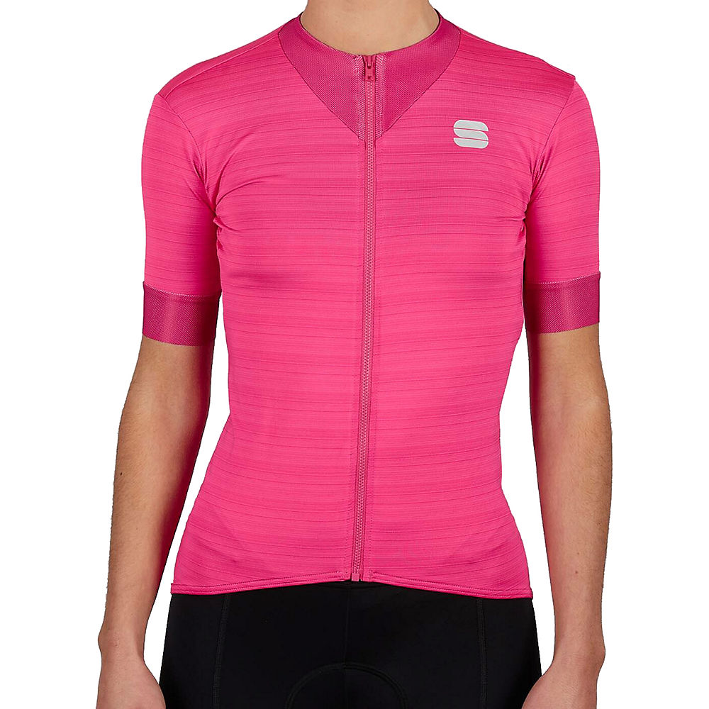 Sportful Womens Kelly Short Sleeve Jersey - Bubble Gum - Xs  Bubble Gum
