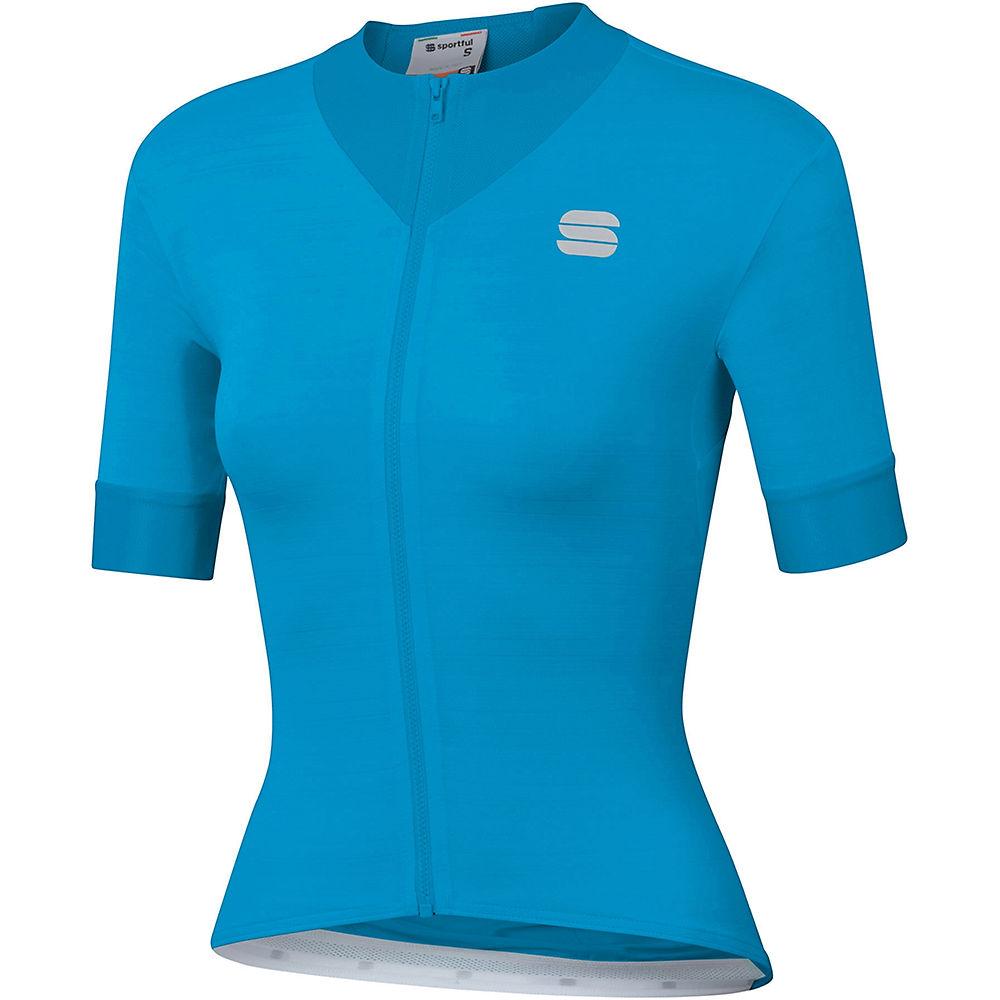 Sportful Womens Kelly Short Sleeve Jersey - Blue Atomic  Blue Atomic